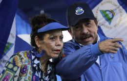 U.S. Treasury used the new executive order to punish Nicaraguan Vice President Rosario Murillo, and aide Nestor Moncada Lau for undermining democracy