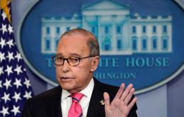 "Kudlow said Trump had told advisers that ""in his view, there is a good possibility that a deal can be made, and that he is open to that."" (REUTERS/Kevin Lamarque)"