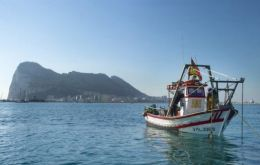 Spanish flagged vessels attempt to fish in Gibraltar waters