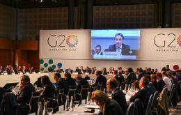 "Preparation meeting for G 20. Unity has vanished as the ""America First"" Trump shreds consensus on international trade and other G20 countries such as Brazil, Italy embrace populism"