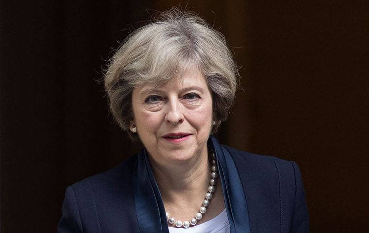 Theresa May will become the first British Prime Minister ever to visit Buenos Aires.