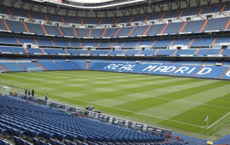 Madrid's Santiago Bernabeu stadium has been picked as the venue where the new Libertadores Cup champions are to be crowned
