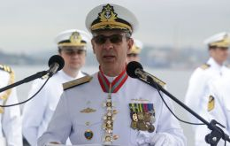 Bento Costa Lima Leite de Albuquerque Junior is the current head of Brazilian Navy's nuclear and technology development program