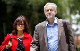 Corbyn is married to Mexican lawyer and activist Laura Álvarez. (Pic Shutterstock)