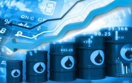 U.S. West Texas Intermediate (WTI) crude futures were at US$ 52.60, up 3.2%. International Brent crude oil futures were up 2.6%, at US$ 61.01 a barrel