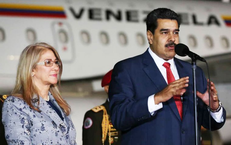 Analysts agree Maduro's trip is a diplomatic offensive in the face of strong international pressure against him.