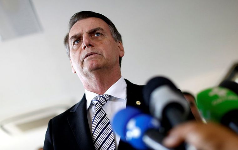 """The idea is to start with the (minimum) age, attack privileges and take it forward,"" Bolsonaro said. ""We cannot allow Brazil to reach the situation of Greece"""
