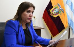 Maria Vicuna's resignation was the second time a vice president left since president Lenin Moreno took office in May 2017