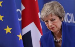 "Mrs. May said Brexit divisions had become ""corrosive"" to UK politics and the public believed the issue had ""gone on long enough"" and must be resolved"