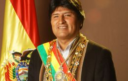 Evo Morales back on the run for another presidential term, regardless of the Constitution and the voice of the people.