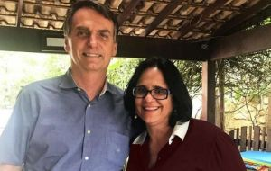 Bolsonaro won the October election on a law-and-order platform, vowing to restore Christian family values in a society where he believes leftist parties went too far