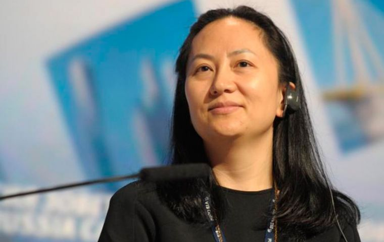The case against Meng Wanzhou, daughter of the founder of Huawei, refers to sto Hong Kong-based Skycom Tech which attempted to sell U.S. equipment to Iran