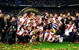 River Plate was on the brink of being disqualified for the violent events of Nov. 24 and now celebrate.
