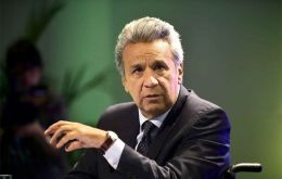 President Lenin Moreno is flying this week to Beijing where he is scheduled to meet with his counterpart Xi Jinping