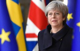 "The PM has warned Tory rebels it could lead to a general election, and there was a ""very real risk of no Brexit""."
