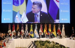 The following week, December 17, Argentina takes over the Mercosur chair, and if technical talks advance there could be a ministerial meeting