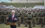 """We are going to reinforce La Araucanía's plan,"" said Piñera."