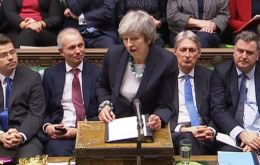 "Mrs May said she would be ""deferring"" the Commons vote until she had made efforts to address concerns over the Northern Ireland border ""backstop"" plan."