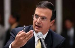 "Foreign minister Marcelo Ebrard said that the investment would accompany a broad policy shift to stem migration, better than ""containment measures."""