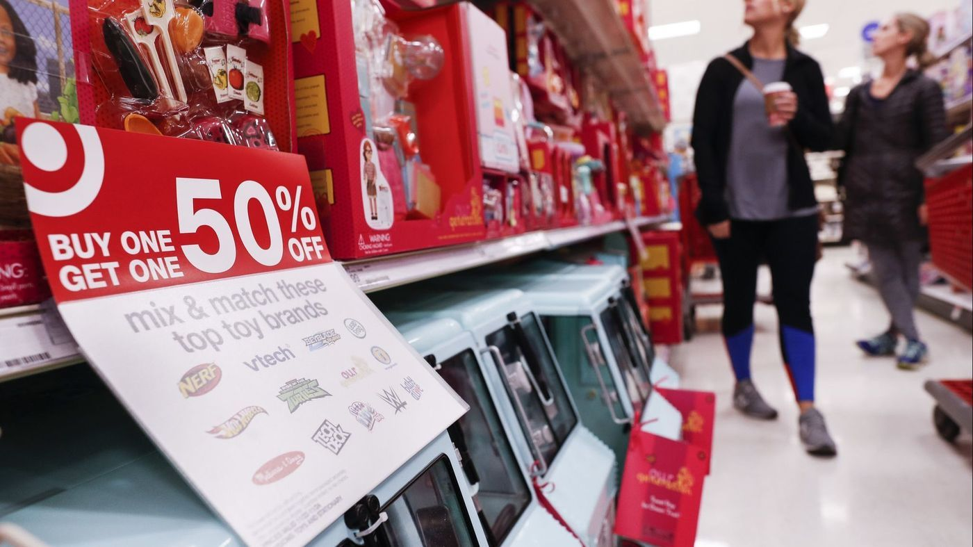 US consumer prices in November unchanged, with sharp decline for gasoline