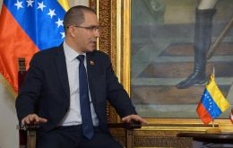 """The best thing I could do is to seek channels of dialogue with the United States,"" said Foreign Minister Arreaza."