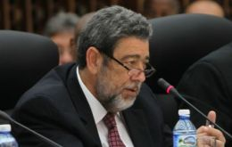 """Had it not been for the ALBA, imperialism would have already intervened militarily in Venezuela,"" said the Prime Minister of Saint Vincent and the Grenadines, Ralph Gonsalves."