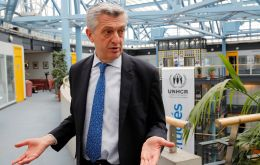 """The reasons for these people leaving goes from sheer hunger to violence and lack of security,"" said UNHCR's Filippo Grandi."