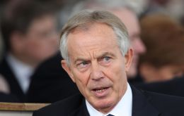 "Blair said that while he admired Mrs. May's determination to get her deal through, with so many MPs opposed, it was ""literally no point in carrying on digging."""