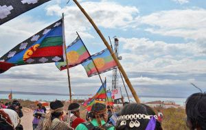"The Neuquen Mapuche Confederation accuses oil and gas companies of harming the environment with ""dangerous waste"" due to ""deficient treatment"""
