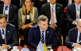 "Macri described the Maduro rule as ""a dictatorship that carried out a fraudulent electoral process."""