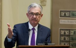 """The economy has continued to perform well,"" Fed Chairman Jerome Powell said at a news conference"