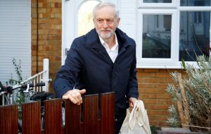 "Opposition leader Corbyn said that he saw ""the compassion of the Good Samaritan in people across our country every day but especially at Christmas""."