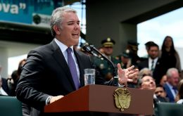 "Colombian President Ivan Duque said the much-wanted guerrilla leader ""Guacho"" was killed in an operation near the Ecuadorean border."