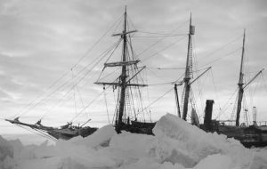 It is on the expedition's return leg that the team will aim to find Shackleton's legendary ship, Endurance, crushed by pack and sank