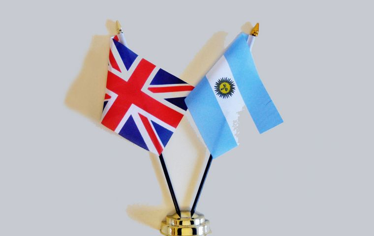 "Falklands/Malvinas sovereignty dispute must be resolved by Argentina/UK bilateral negotiations, ""taking into account the interests of the inhabitants of the Islands"""