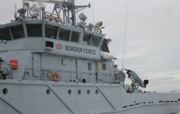 Border Force currently has two coastal patrol vessels in the Channel, as well as two cutters, HMC Vigilant and HMC Searcher