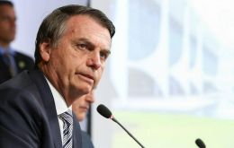 Bolsonaro told reporters that the minimum retirement age would be 62 for men and 57 for women, effective five years after legislation is passed