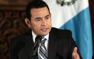 She said president Morales would continue the fight against corruption, but that there had been a misunderstanding about the investigations into his affairs