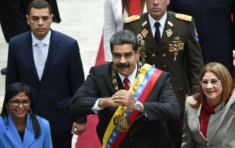 Maduro will take the oath of office this Thursday before the Supreme Court ignoring the Legislative Assembly he does not control