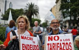 Weekly demonstrations are planned through early February in Argentina's main cities