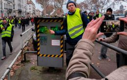 The yellow vests movement, or gilets jaunes in French, is named after the high-visibility vests that every driver in the country must keep in their vehicle.