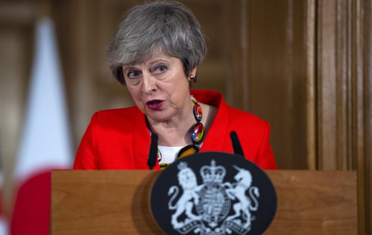 Theresa May will use a speech on Monday to warn that Parliament is more likely to block Brexit than let the UK leave with no deal.