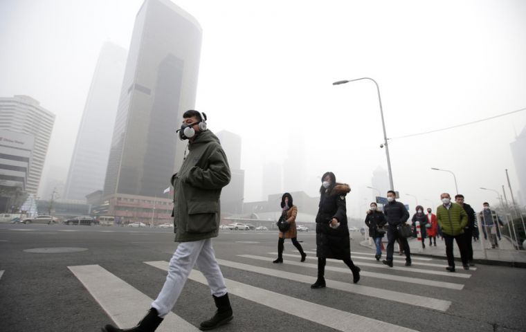 Microscopic pollutants in the air can penetrate respiratory and circulatory systems, damaging the lungs, heart and brain, killing 7 million people prematurely annually