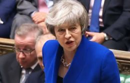 The prime minister won a vote of no confidence by 325 to 306, as rebel Tory MPs and the DUP backed her to stay in No 10