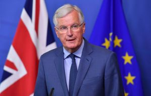 "EU chief Brexit negotiator Michel Barnier said he ""profoundly"" regretted the vote.  ""An orderly withdrawal will remain our absolute priority in the coming weeks"""