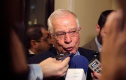"""Bilateral agreements between Spain and UK guarantee Spaniards living in UK and Britons in Spain will maintain all of their rights"", Josep Borrell said in Madrid"