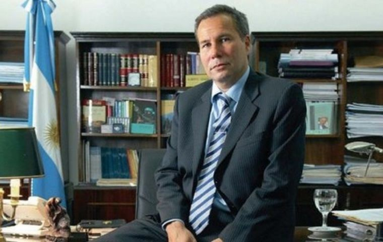 Nisman's body was discovered in the early morning of 19 Jan. 2015, hours before he was due to unveil a complaint against ex-president Cristina Fernandez