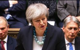 The prime minister will address the Commons on Monday afternoon, setting out how she intends to proceed with the Brexit withdrawal agreement