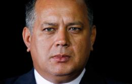 Socialist party chief Diosdado Cabello said 27 guardsmen were arrested and more could be detained as the investigation unfolds.(Pic Reuters)