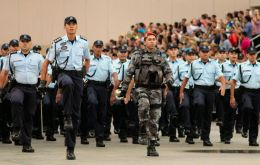 More than 400 elite federal troops have been sent to the city of Fortaleza and the rest of Ceara state to reinforce overwhelmed local cops